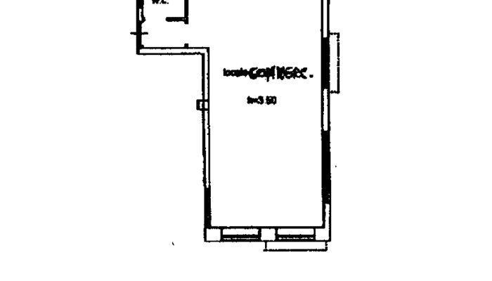 LOCALE COMMERCIALE MELISSANO floorplan 1