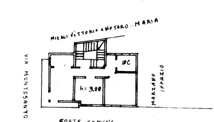 CASA CON GARAGE E GIARDINO floorplan 3