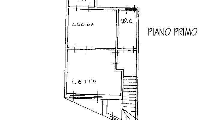 CASA CON GARAGE floorplan 1