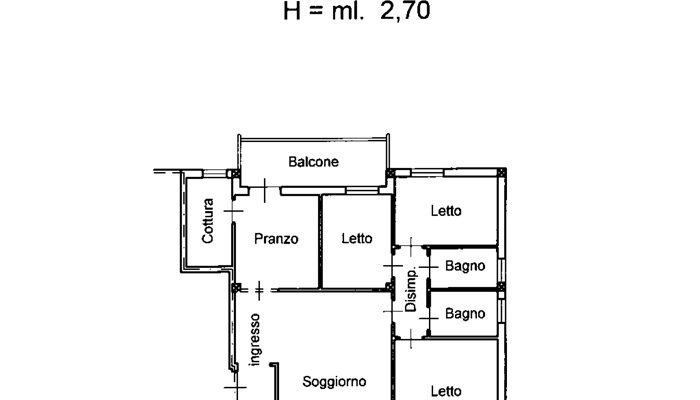 APPARTAMENTO CONDOMINIALE floorplan 1