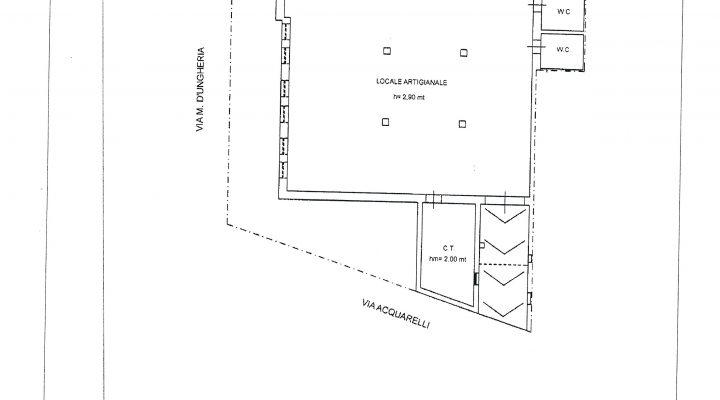 LOCALE ARTIGIANALE UGENTO floorplan 2
