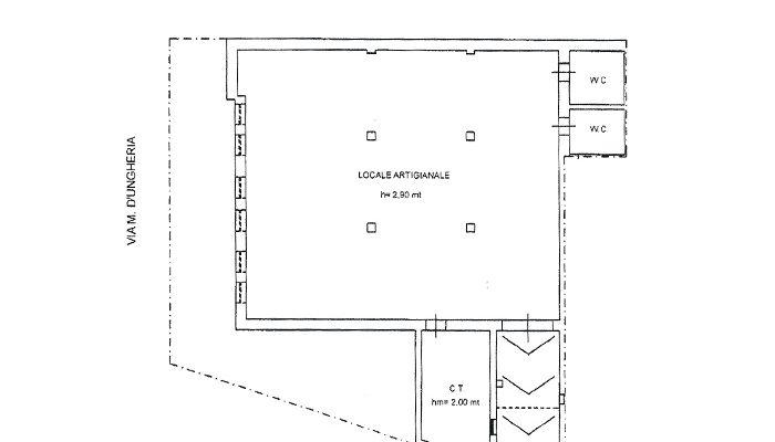 LOCALE ARTIGIANALE UGENTO floorplan 3