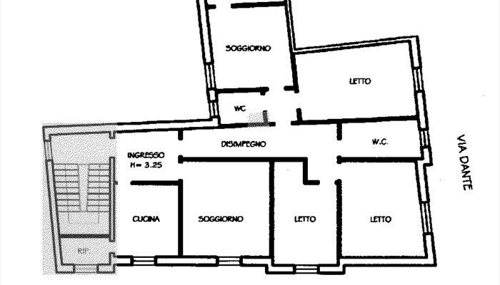 CASA E LOCALE COMMERCIALE floorplan 1