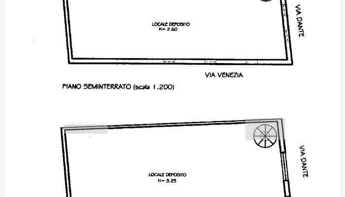 CASA E LOCALE COMMERCIALE floorplan 3