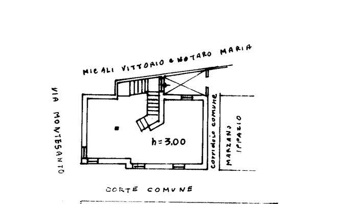 CASA CON GARAGE E GIARDINO floorplan 1