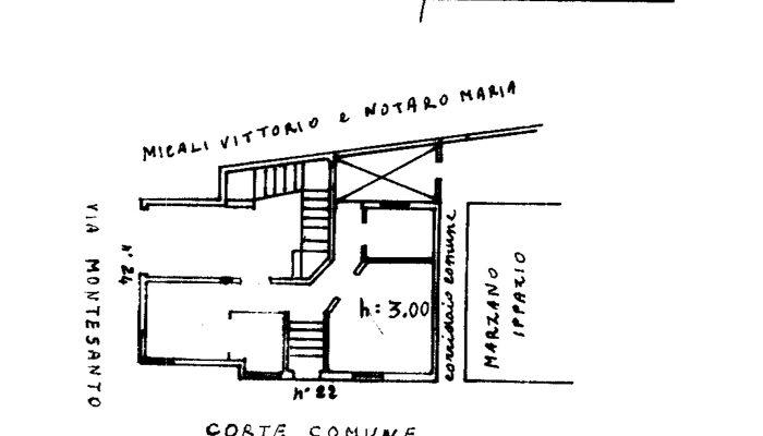 CASA CON GARAGE E GIARDINO floorplan 2
