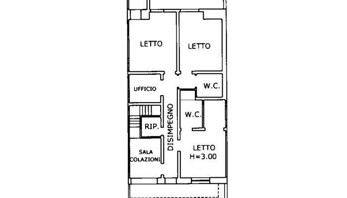 BED AND BREAKFAST RISTRUTTURATO floorplan 1