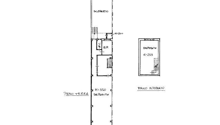 CASA CON LOCALE COMMERCIALE floorplan 1