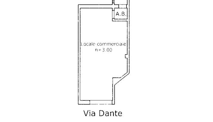 LOCALE COMMERCIALE floorplan 1